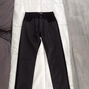 BDG Courtshop faux leather pants